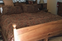 whispering Pines bed shot